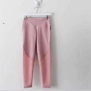 NWT Victoria's Secret Sport VSX Pink Leopard Yoga